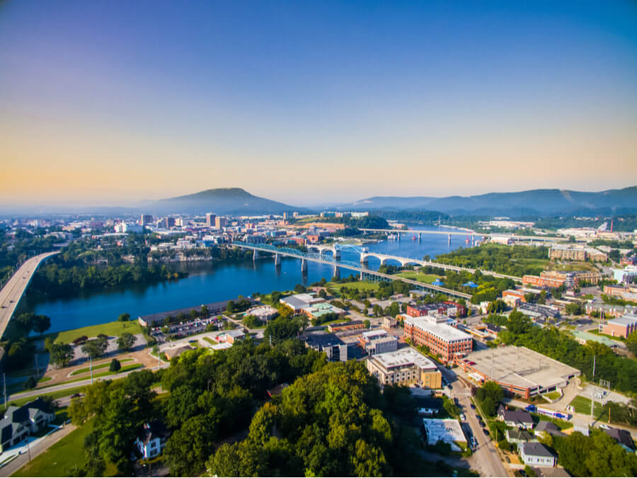 Chattanooga Tennessee Downtown