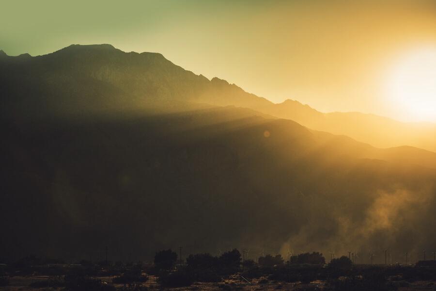 Coachella Valley Near Palm Springs, California