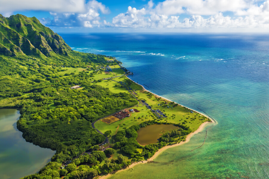 Hina Mauka, Kaneohe, Hawaii