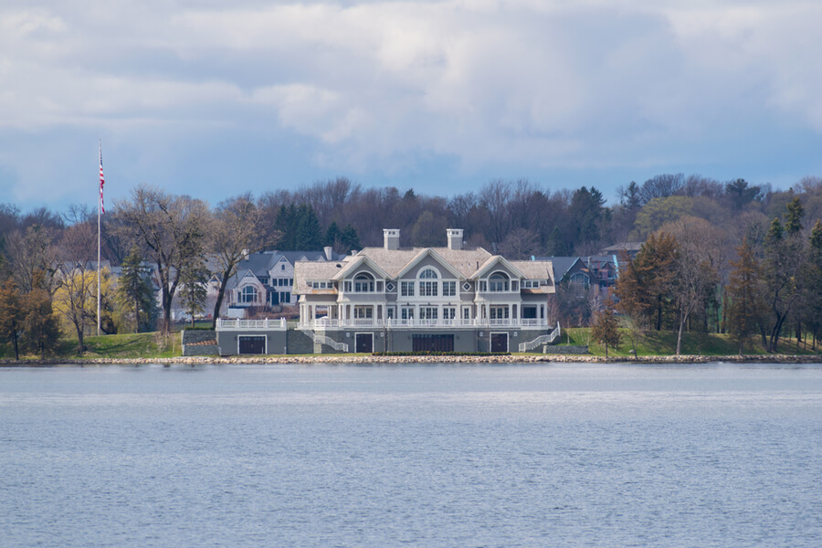 Lake house in Wayzata, Minnesota