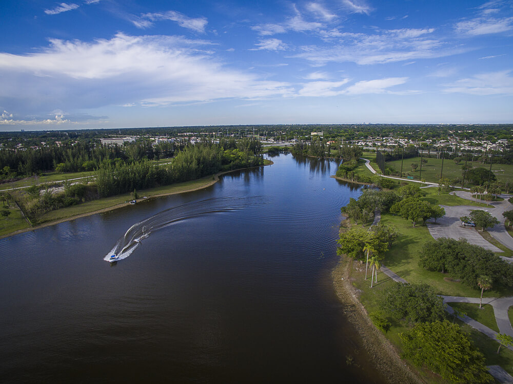 Landscape of Pembroke Pines, Florida