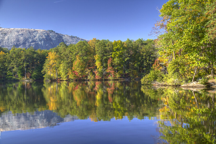 Stone mountain park, Georgia, USA