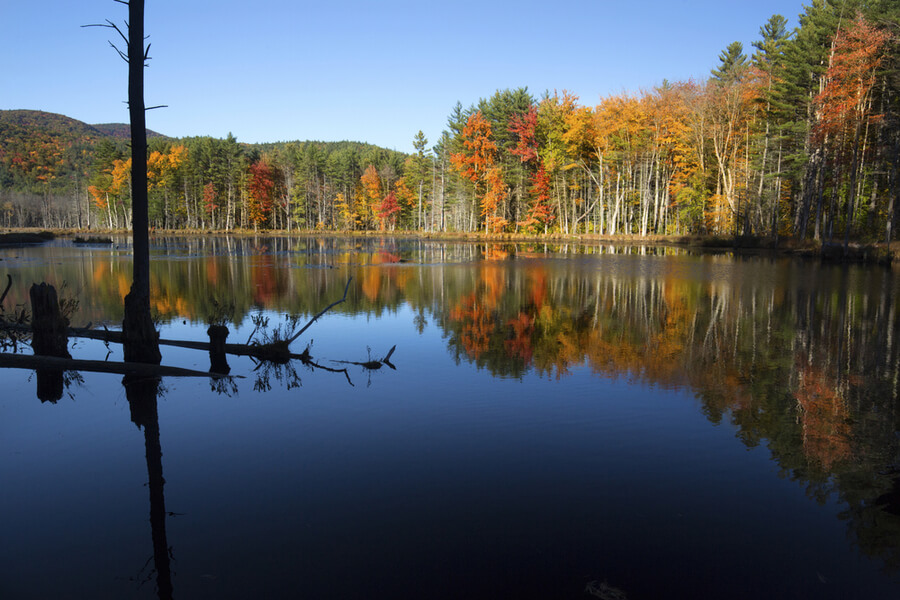 White Mountains, Plymouth, New Hampshire