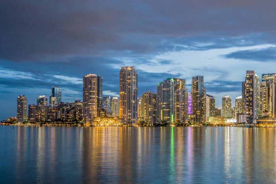 Miami business district