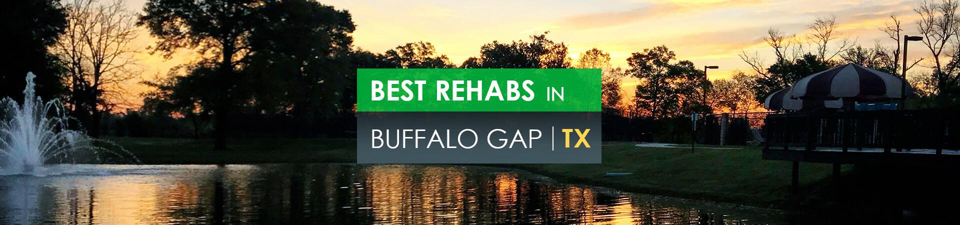 Best rehabs in Buffalo Gap, TX