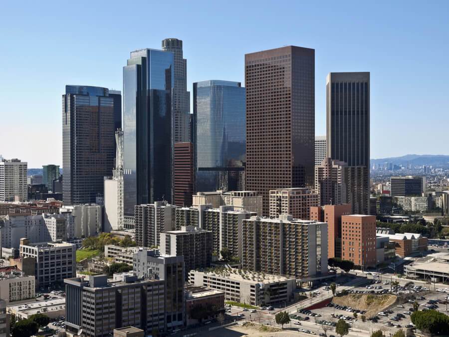 Downtown Los Angeles towers