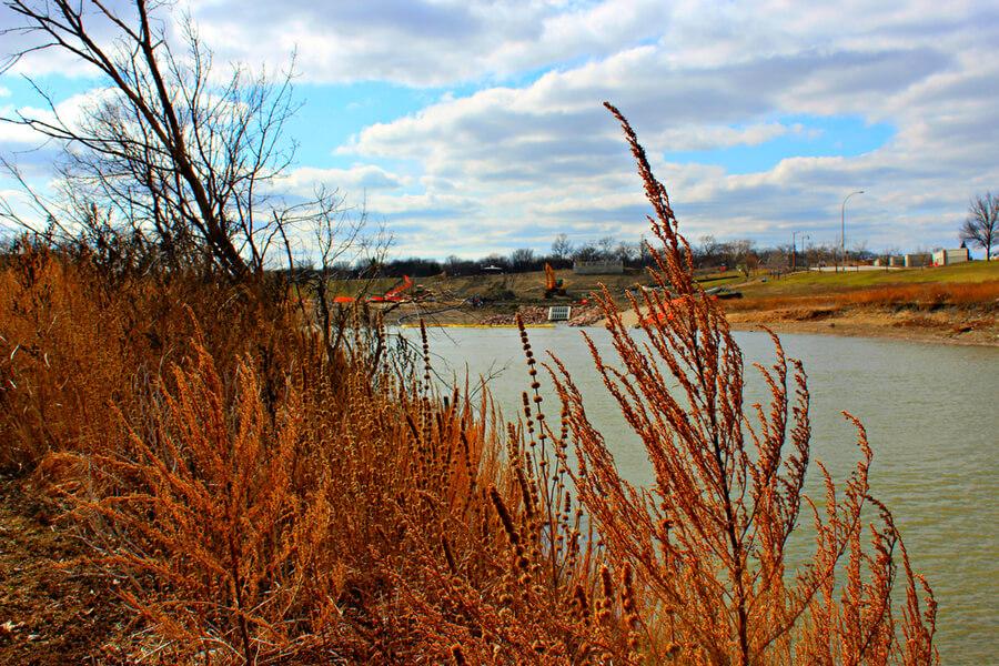 Fargo North Dakota by the Red River