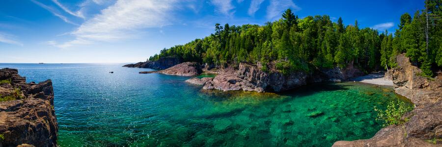 Green Bay at Lake Superior