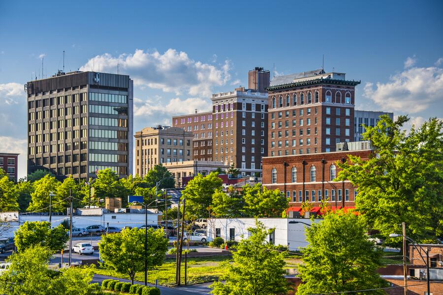 Phoenix Center, Greenville, South Carolina