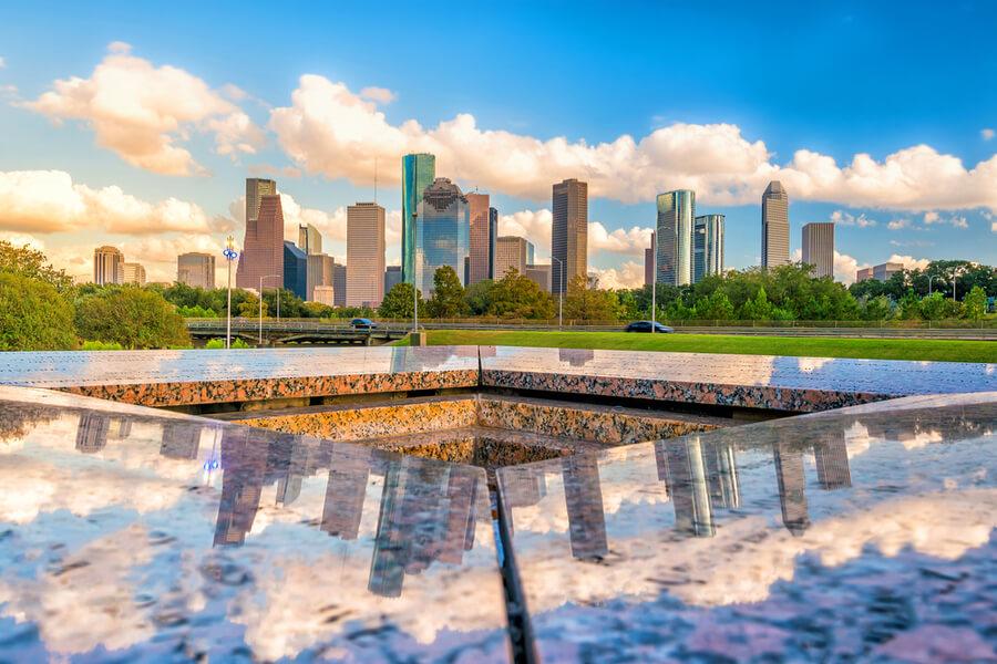 Houston, Texas, USA downtown