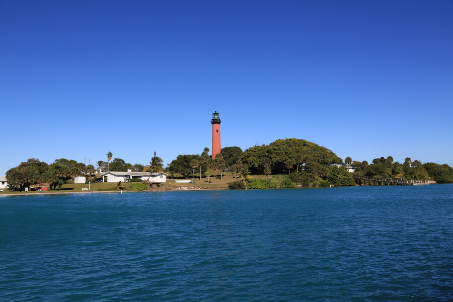 Lighthouse in Tequesta, Florida