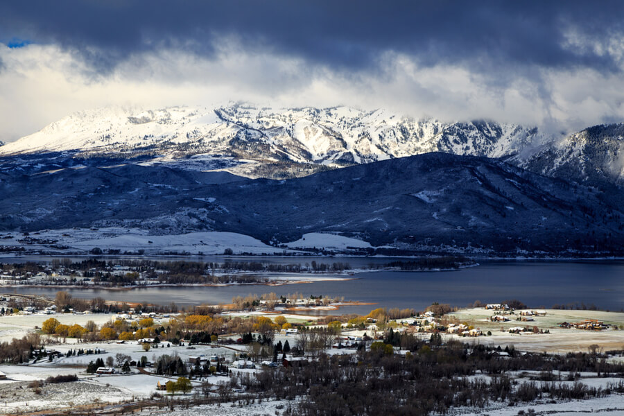 Ogden Valley, Utah, USA
