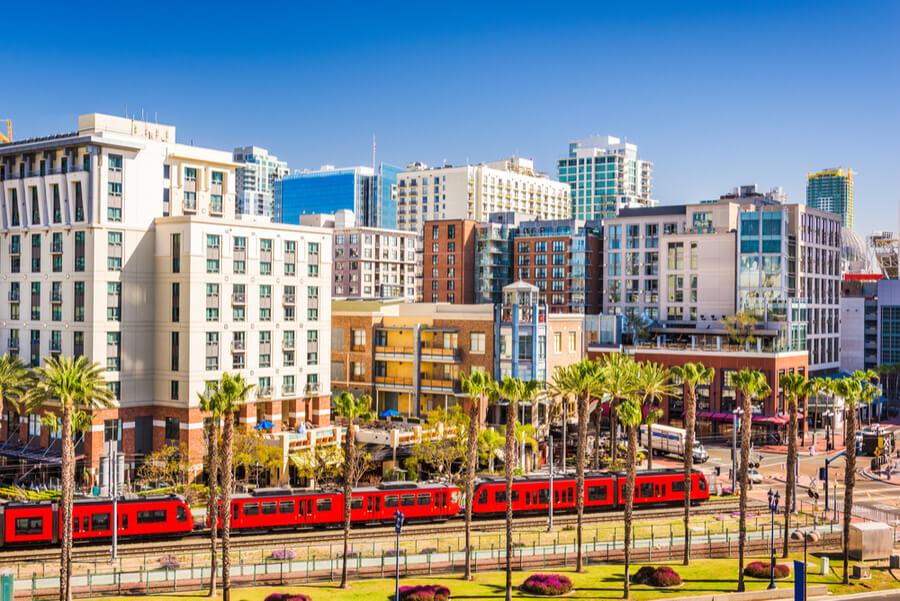 San Diego, California cityscape