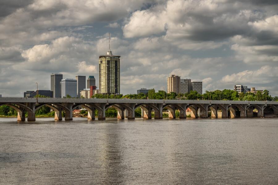 Skyline of Tulsa, Oklahoma