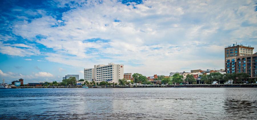 View of Wilmington North Carolina