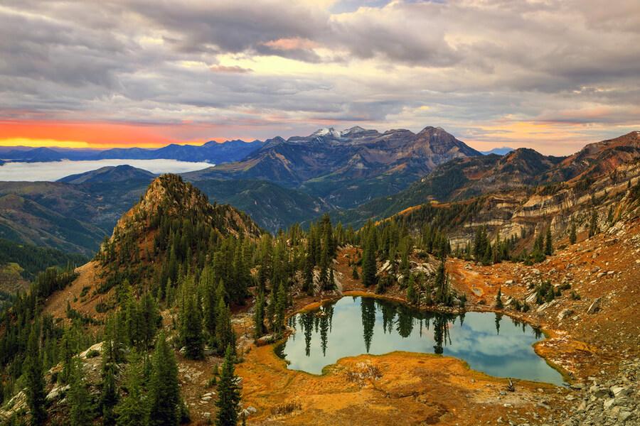 Wasatch Mountains, Utah, USA