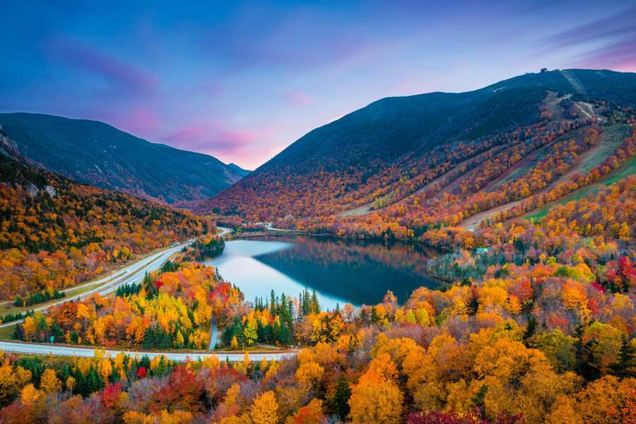 White Mountain National Forest, New Hampshire, USA