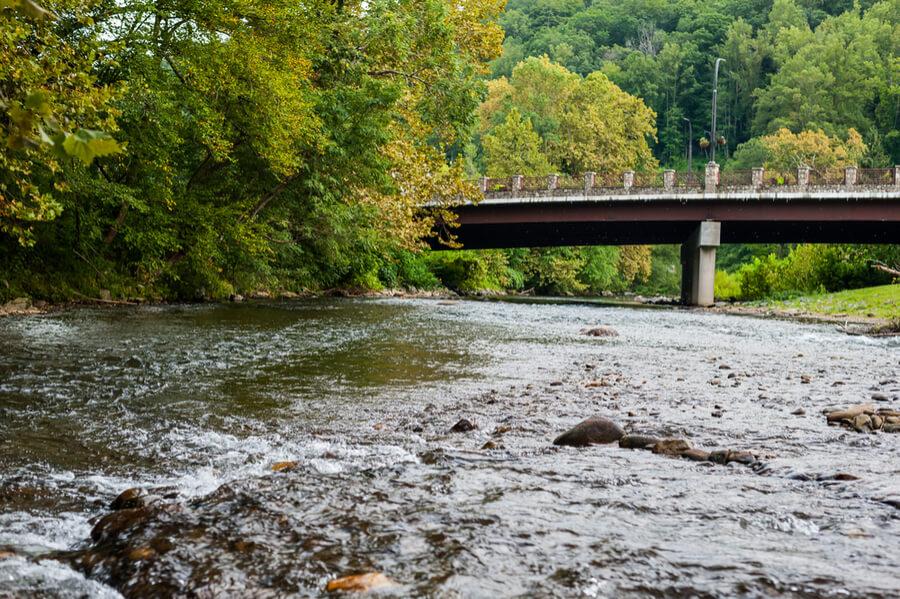 bridge over the cherokee