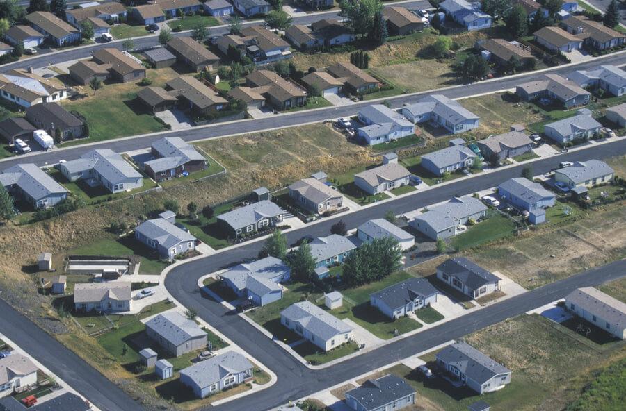 housing development, Pullman, WA