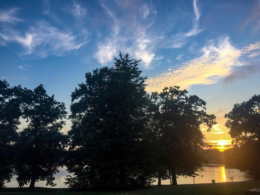 Brighton Michigan Sunset