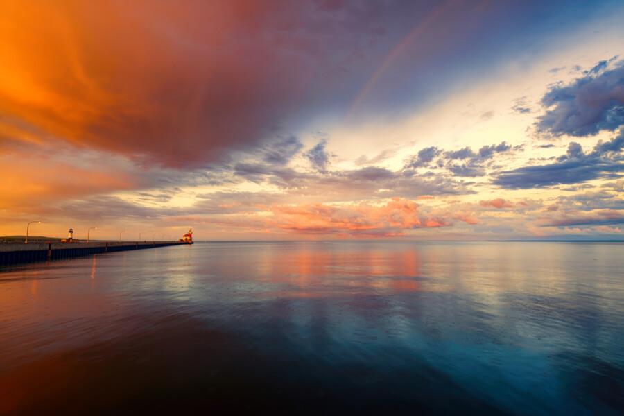 Canal Park Lighthouse, Duluth, Minnesota