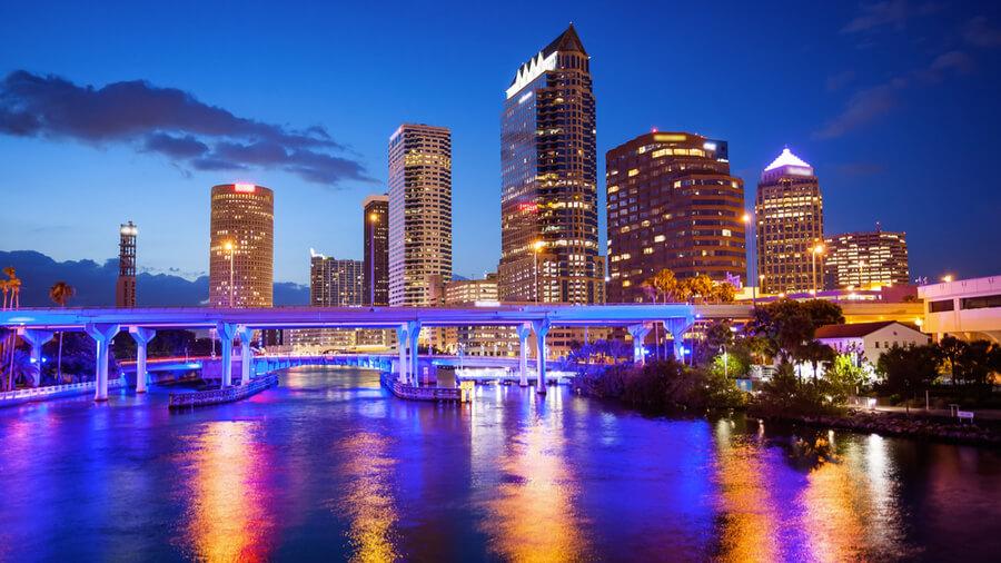 Downtown Tampa, Florida Skyline