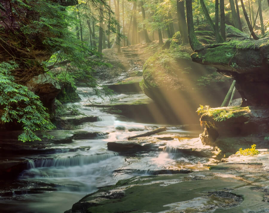 Hocking Hills State Park in Ohio