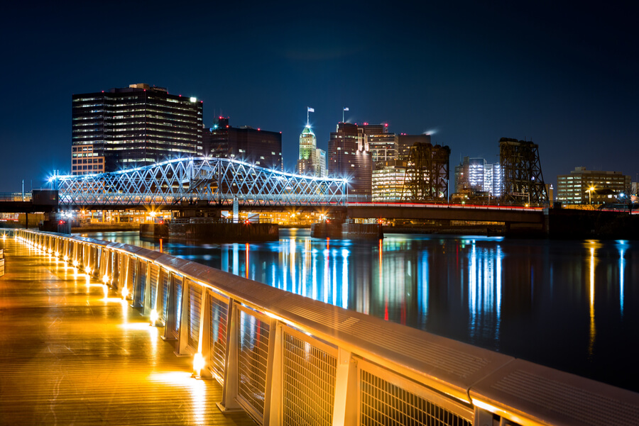 Newark, NJ cityscape