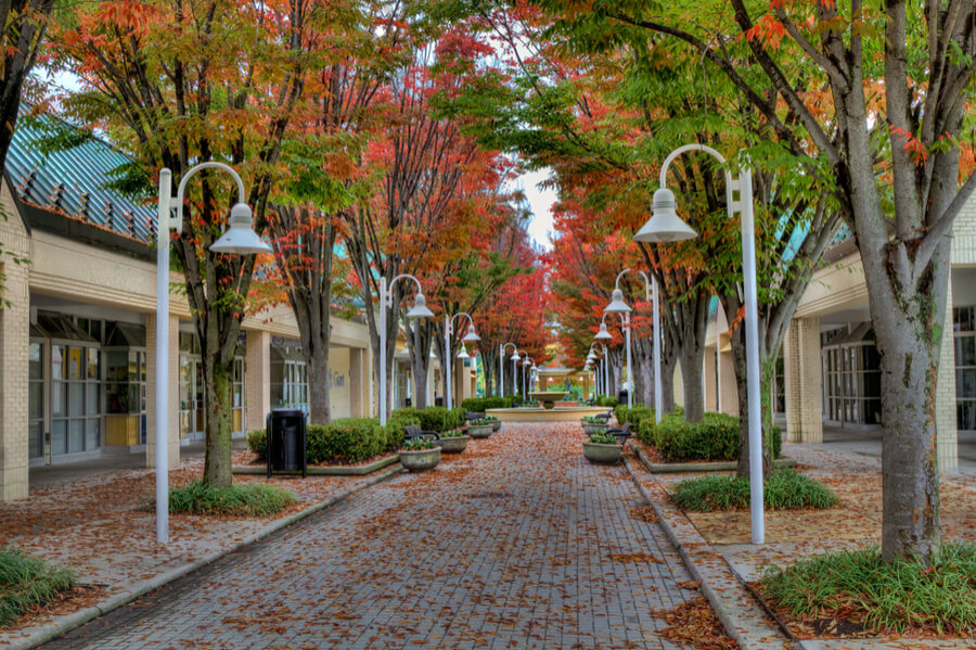 Walkway, Columbia, Maryland