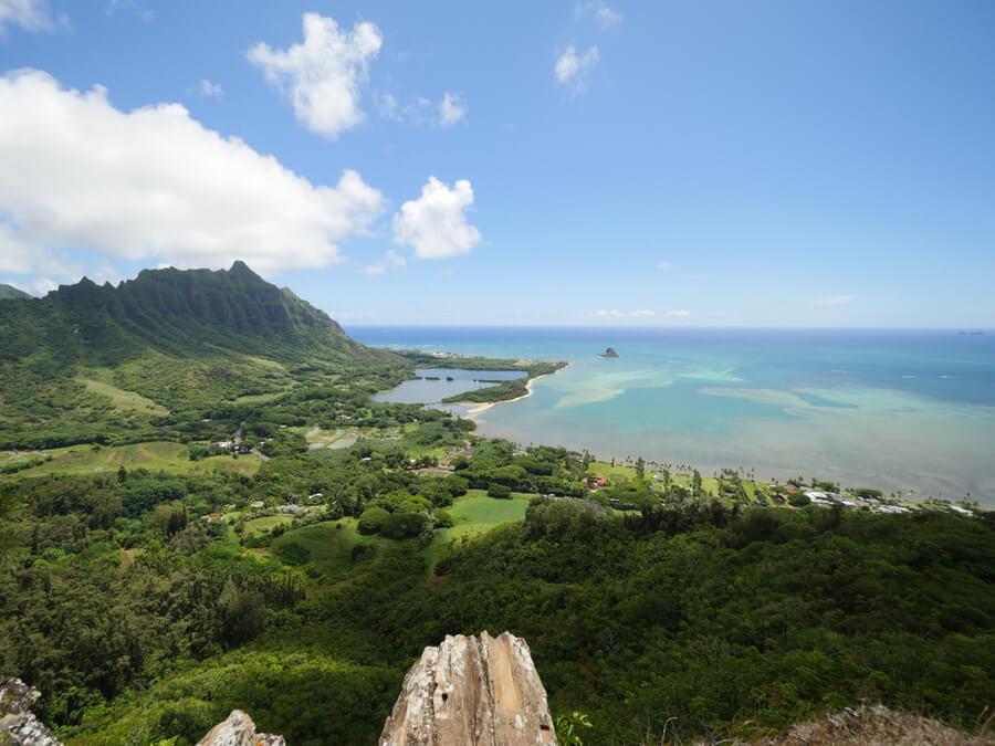 mokolii island Oahu Hawaii
