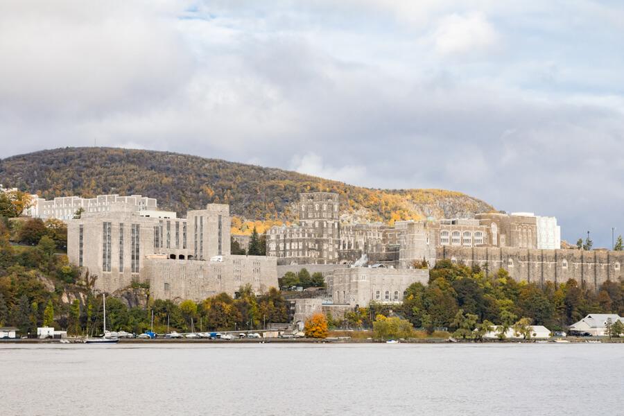 Hudson River in Garrison, New York