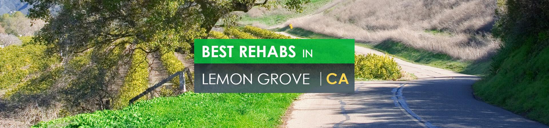 Best rehabs in Lemon Grove, CA
