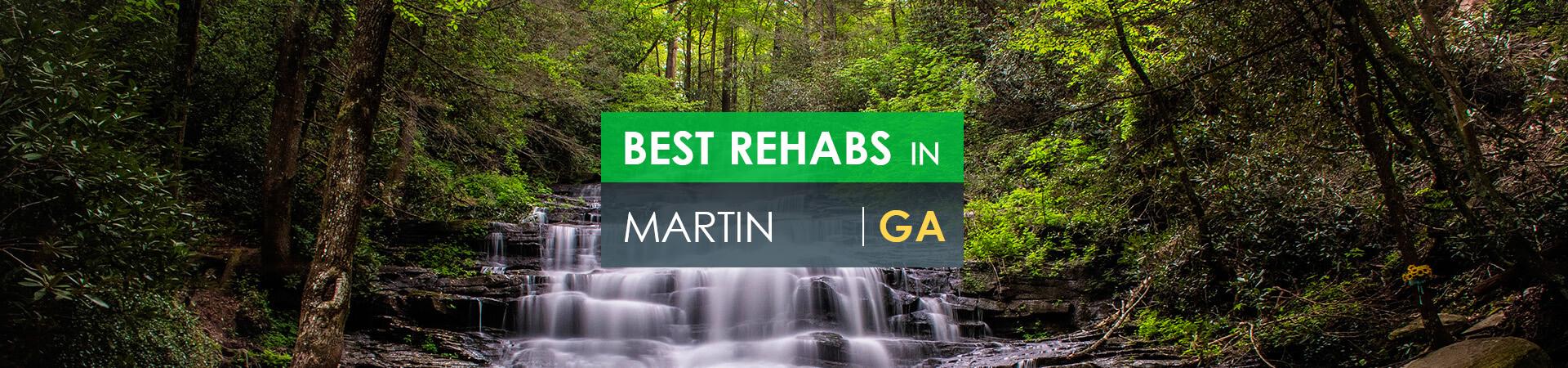 Best rehabs in Martin, GA