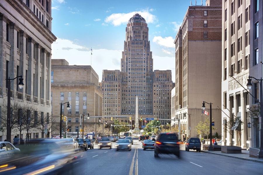 Buffalo downtown
