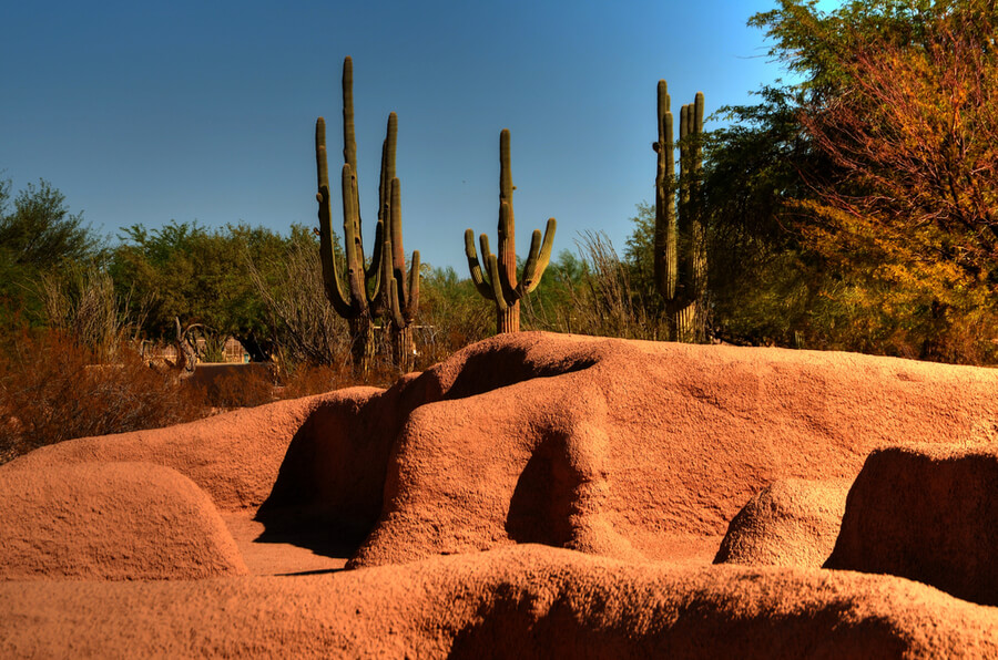 Hohokam Indians in Arizona USA
