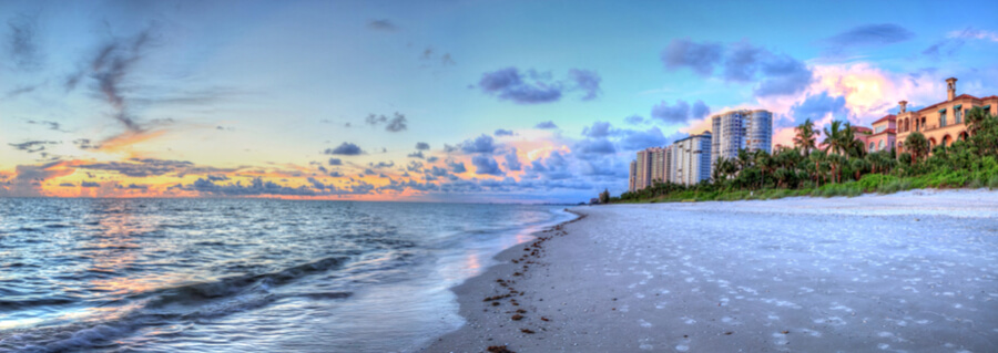 Vanderbilt Beach in Naples, Florida