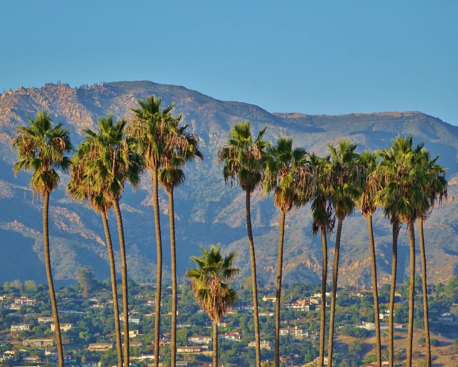 View on Santa Barbara