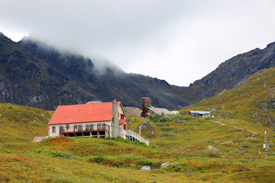 Mine State Historical Park at Palmer, Alaska